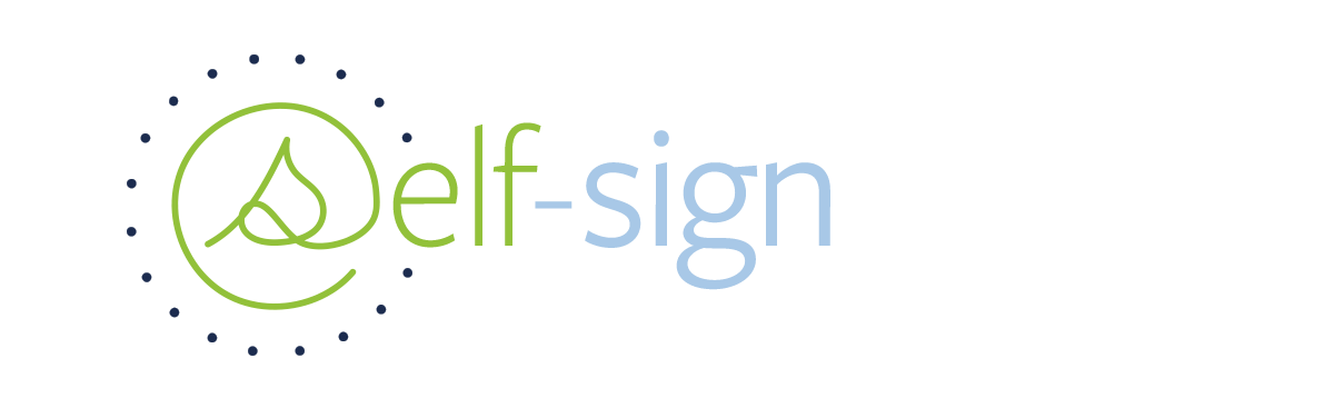 Self-Sign